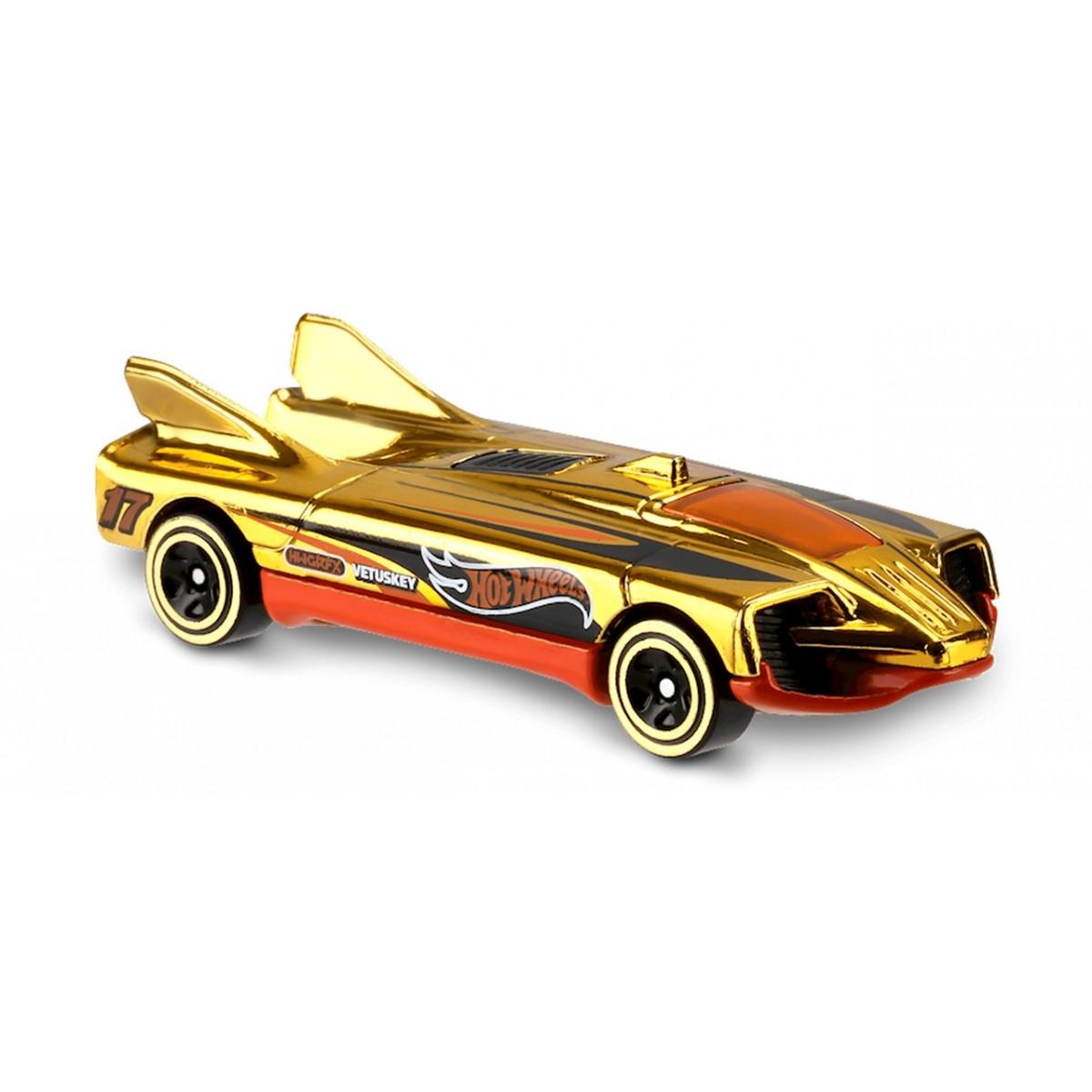Carrinho Hot Wheels: Speed Slayer Dourado