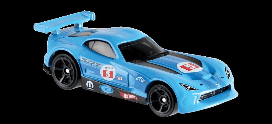 Carrinho Hot Wheels SRT Viper GTS-R (525CH) - Mattel