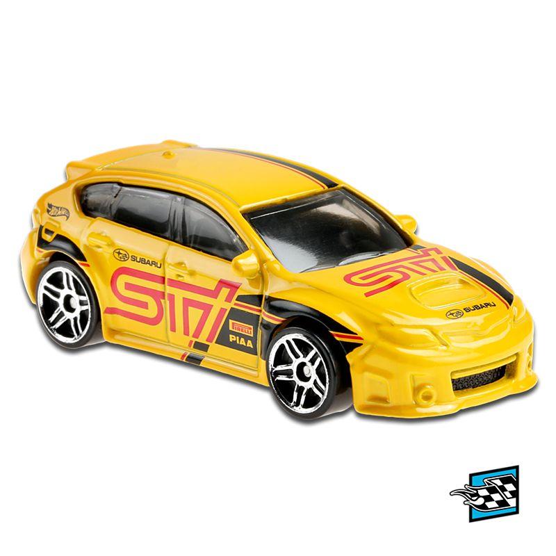Carrinho Hot Wheels: Subaru WRX STI - Mattel