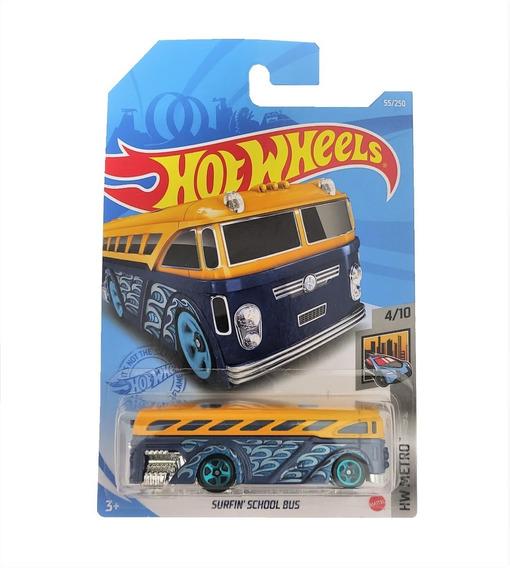 Carrinho Hot Wheels: Sufin' School Bus HW Metro - Mattel