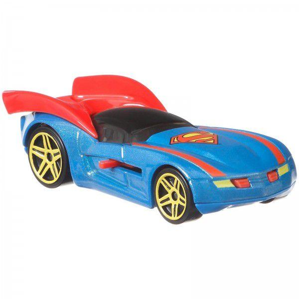Carrinho Hot Wheels Super-Homem: DC Comics - Mattel