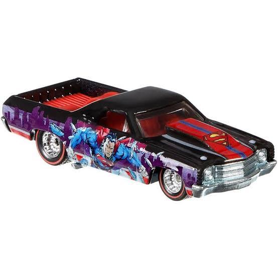 Carrinho Hot Wheels: Superman '71 Chevy El Camino (DLB45) - Mattel