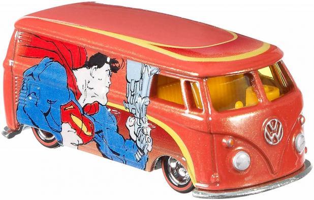 Carrinho Hot Wheels: Superman Custom Volkswagen T1 Panel (DLB45) - Mattel