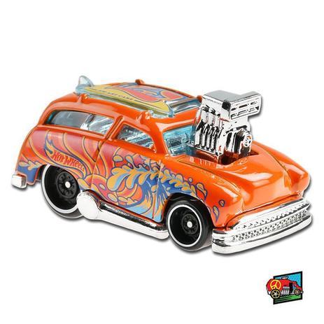 Carrinho Hot Wheels: Surf 'n Turf (Laranja) HW Art Cars - Mattel