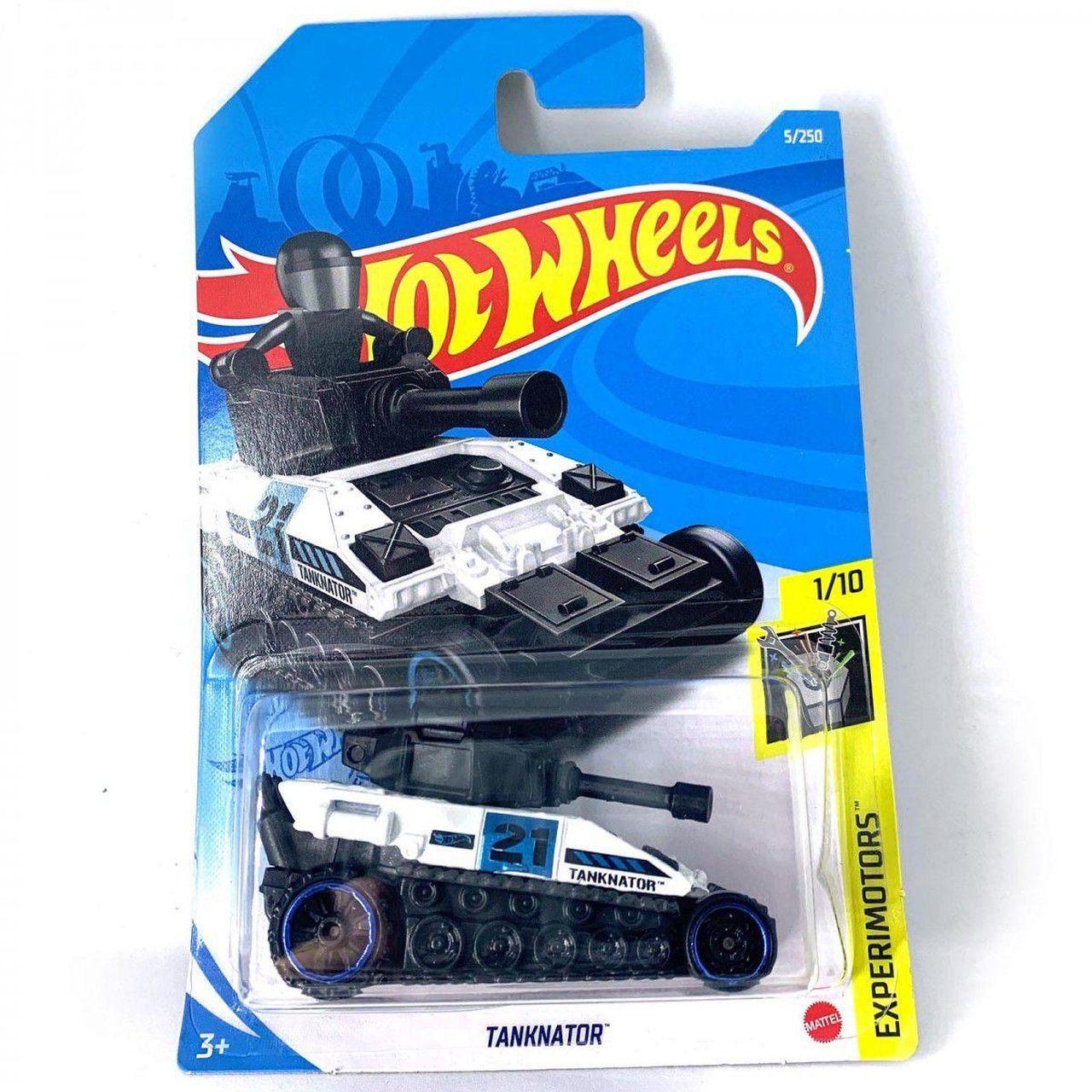 Carrinho Hot Wheels: Tanknator  Experimotors - Mattel