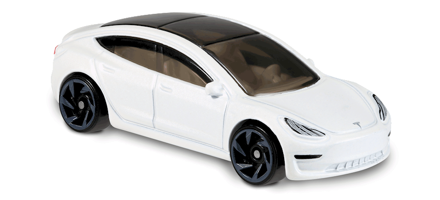 Carrinho Hot Wheels Tesla Model 3 (A8VB3) - Mattel