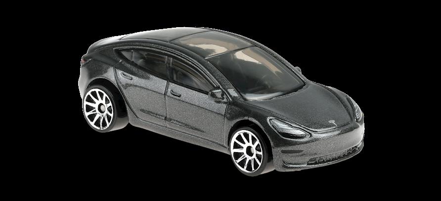 Carrinho Hot Wheels: Tesla Model 3  - (Factory Fresh) - YRMVP