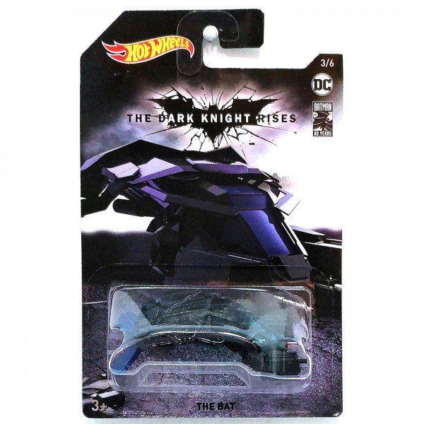 Carrinho Hot Wheels The Bat: Batman O Cavaleiro das Trevas Ressurge (FYX90) - Mattel