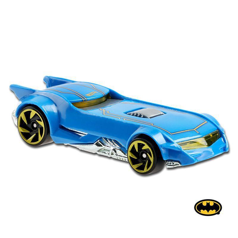 Carrinho Hot Wheels: The Batman Batmobile (Azul) Batman - Mattel