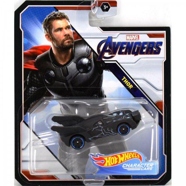 Carrinho Hot Wheels Thor: Vingadores (Avengers) - Mattel
