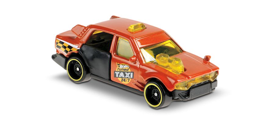 Carrinho Hot Wheels: Time Attaxi - ( Hw Metro ) - 1QNLE
