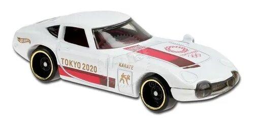 Carrinho Hot Wheels Toyota 2000 GT (7YONL) Olympic Games Tokyo 2020 - Mattel