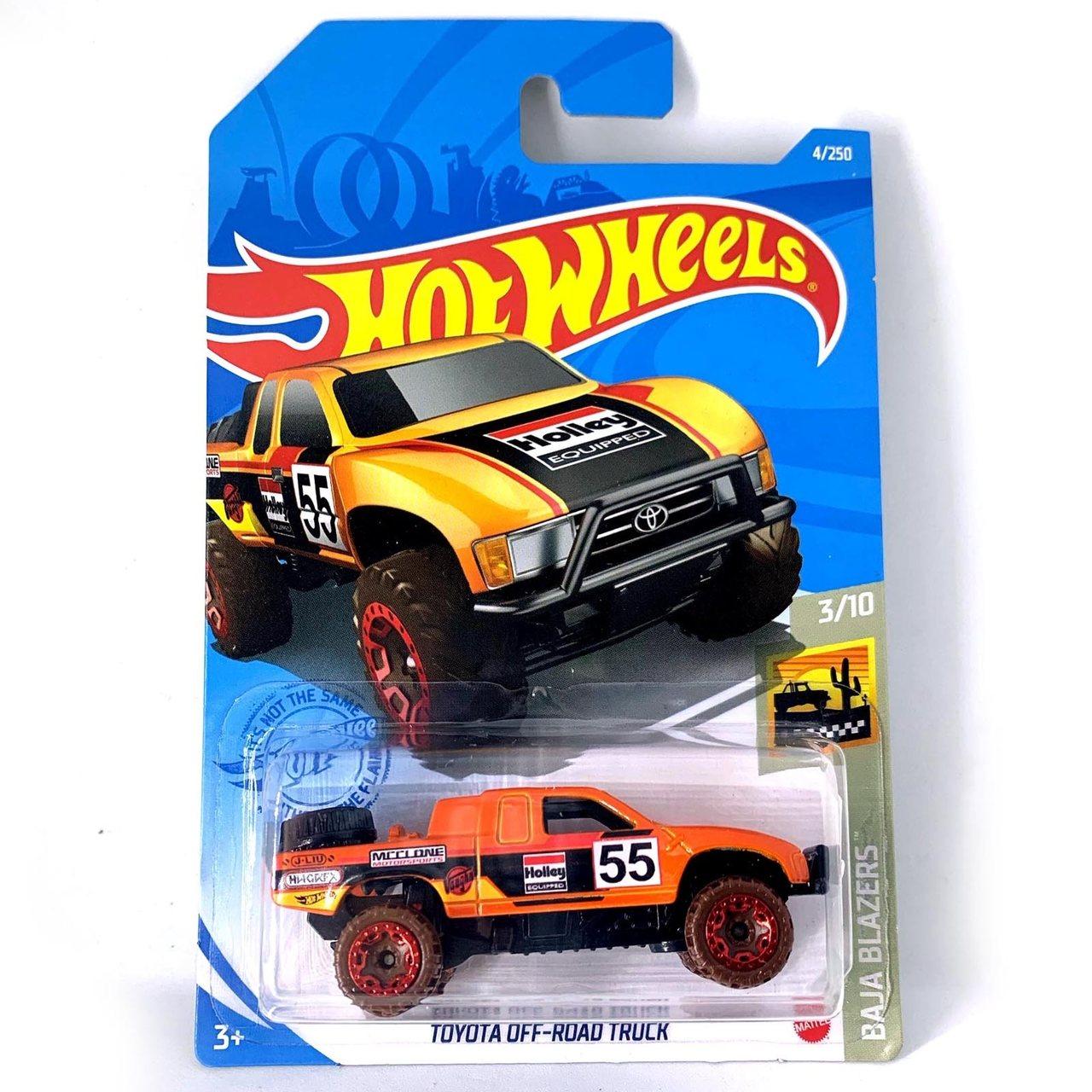 Carrinho Hot Wheels: Toyota Off - Road Truck  Baja Blazers - Mattel