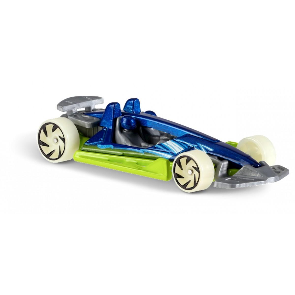 Carrinho Hot Wheels: Track Hammer Azul e Verde