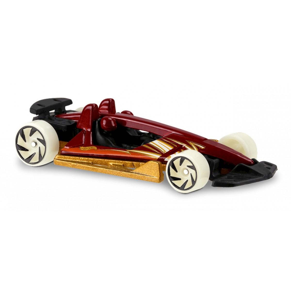 Carrinho Hot Wheels: Track Hammer Vermelho e Dourado