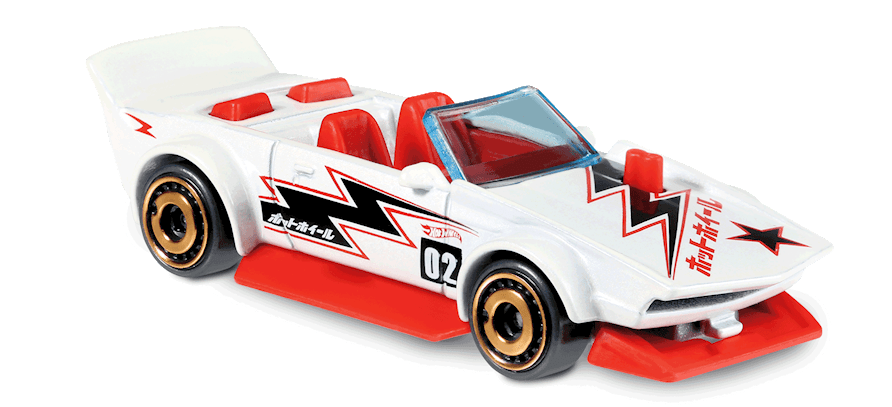Carrinho Hot Wheels Track Manga (DCUGV) - Mattel