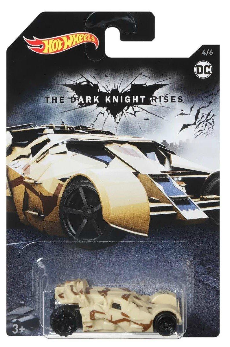 Carrinho Hot Wheels: Tumbler: Batman The Dark Knight Rises (FKF40) - Mattel