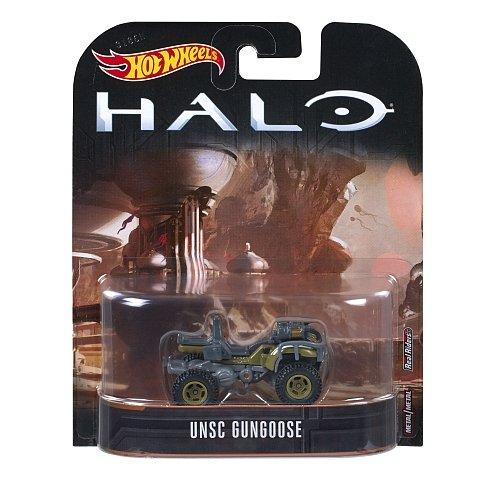 Carrinho Hot Wheels UNSC Gungoose: Halo - Mattel