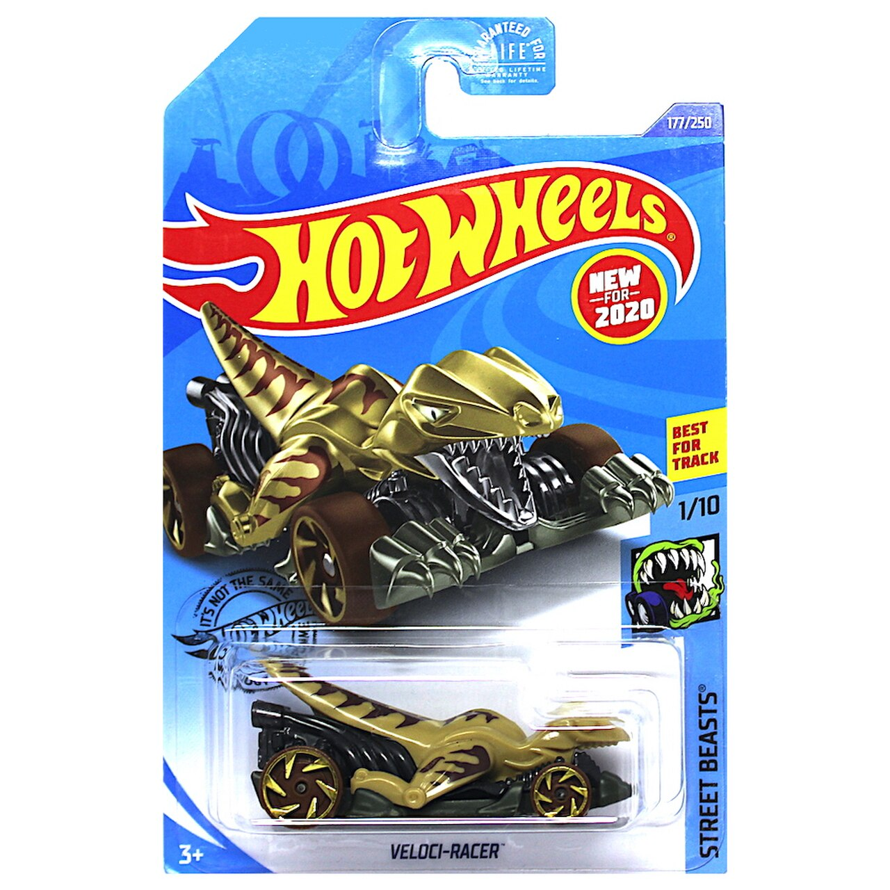 Carrinho Hot Wheels Veloci-Racer (MXLIC) Street Beasts - Mattel