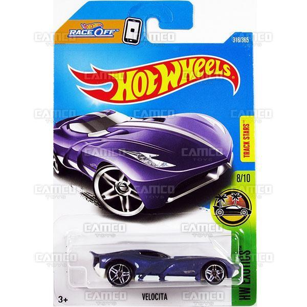 Carrinho Hot Wheels: Velocita Roxo