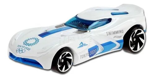 Carrinho Hot Wheels Velocita (WSQMV) Olympic Games Tokyo 2020 - Mattel