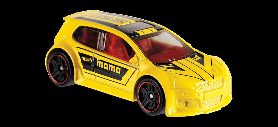 Carrinho Hot Wheels Volkswagen Golf GTI (OT6WU) - Mattel