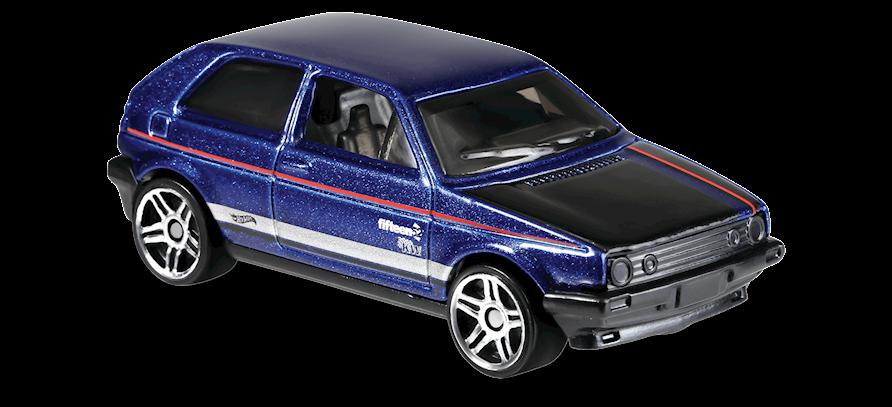 Carrinho Hot Wheels Volkswagen Golf MK2 (HQVYK) - Mattel