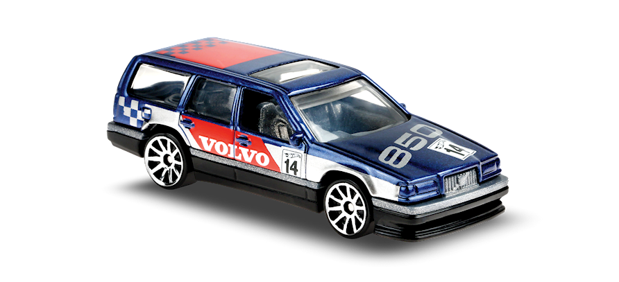 Carrinho Hot Wheels: Volvo 850 Estate - ( Hw Race Day ) - AXSUD