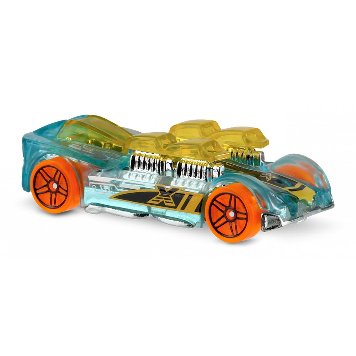 Carrinho Hot Wheels: What-4-2 Transparante