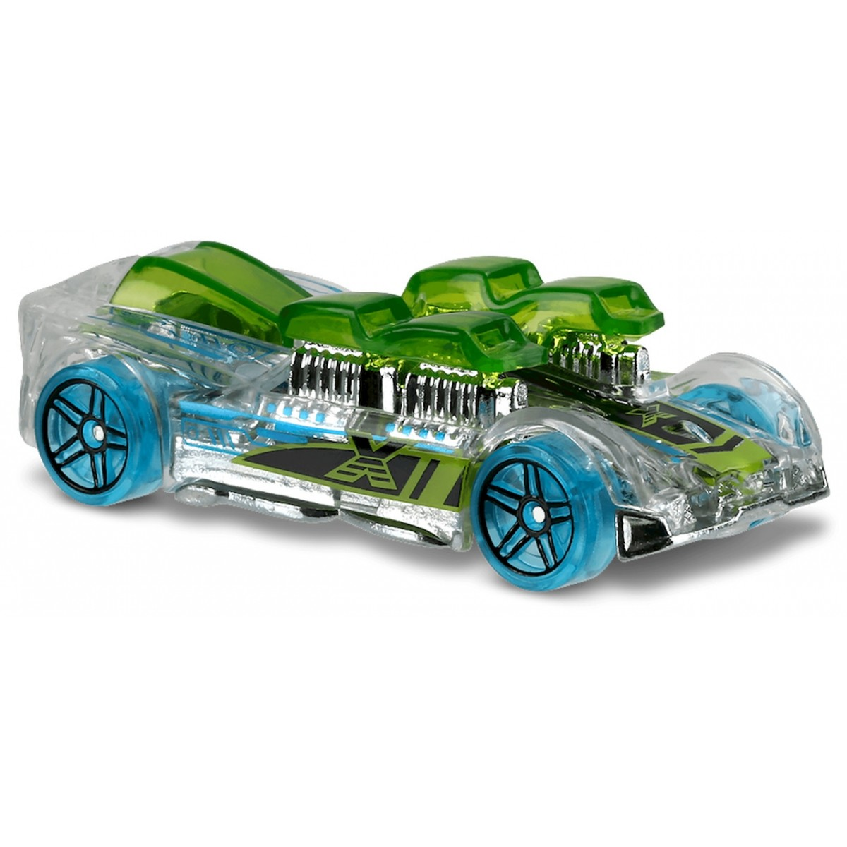 Carrinho Hot Wheels: What-4-2 Transparente