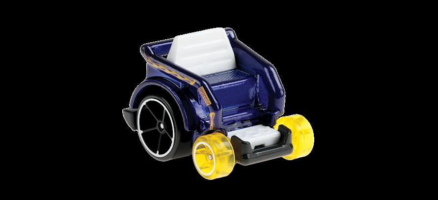 Carrinho Hot Wheels: Wheelie Chair  - (HW Ride-Ons) - QPF8C