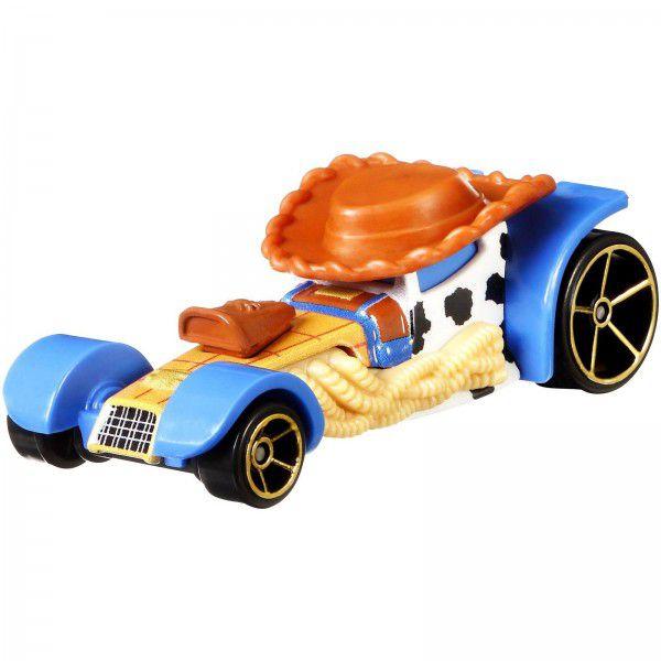 Carrinho Hot Wheels Woody: Toy Story 4 - Mattel
