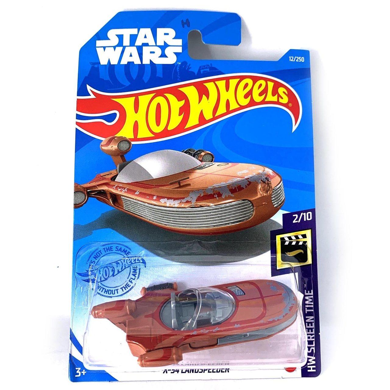 Carrinho Hot Wheels X-34 LandSpeeder: HW Screen Time Star Wars - Mattel