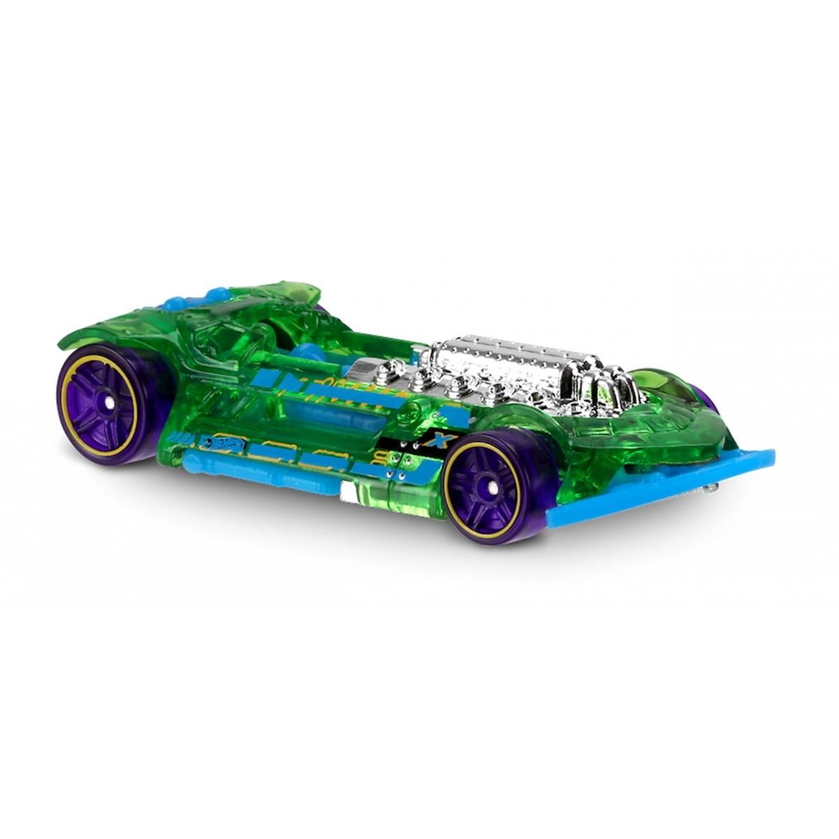 Carrinho Hot Wheels: X-Steam Verde