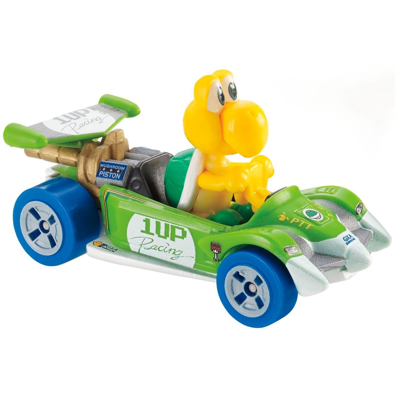 Carrinho Koopa Troopa (Circuit Special): Mario Kart - Hot Wheels