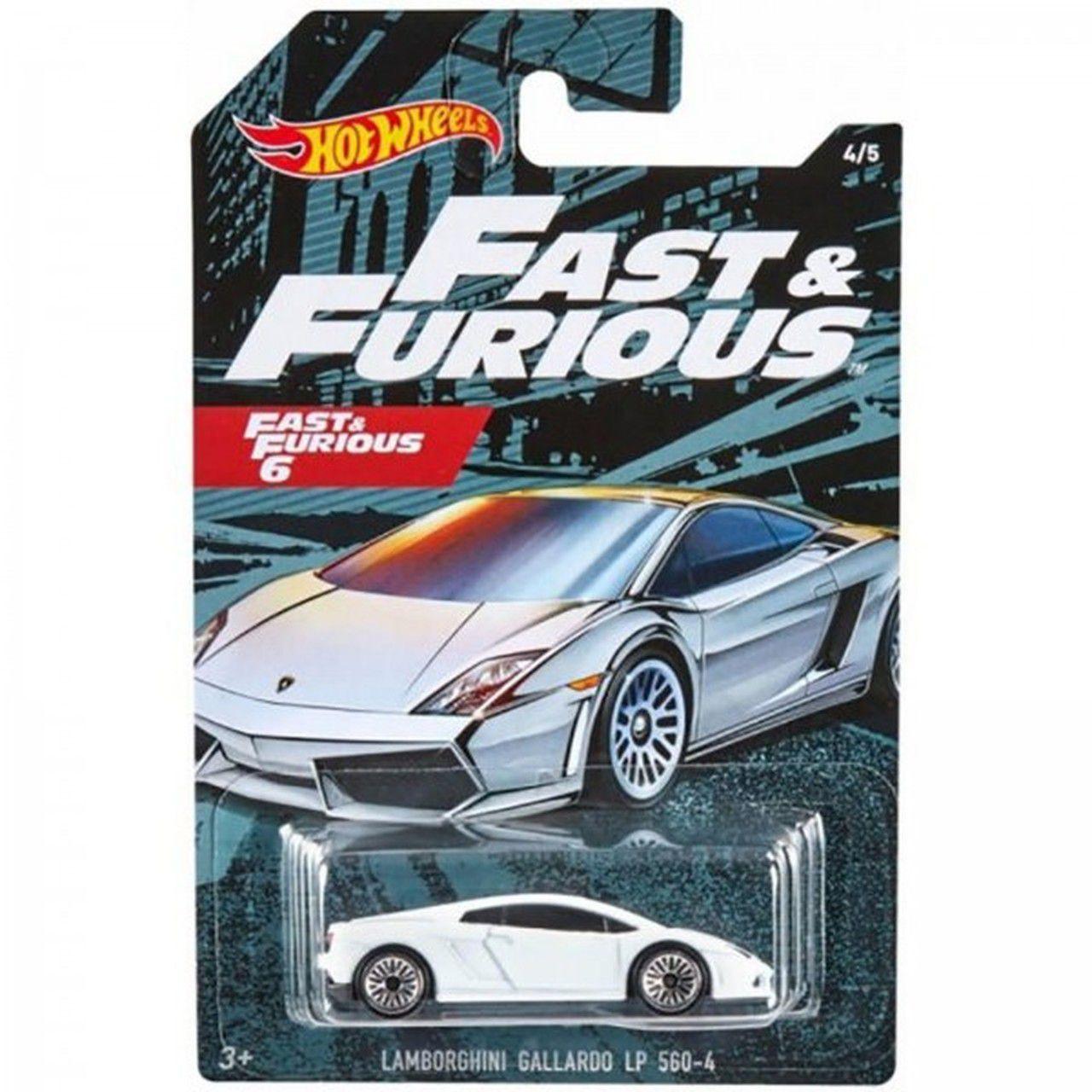 Carrinho Lamborghini Gallardo LP 560-4: Velozes e Furiosos 6 (Fast & Furious) - Hot Wheels
