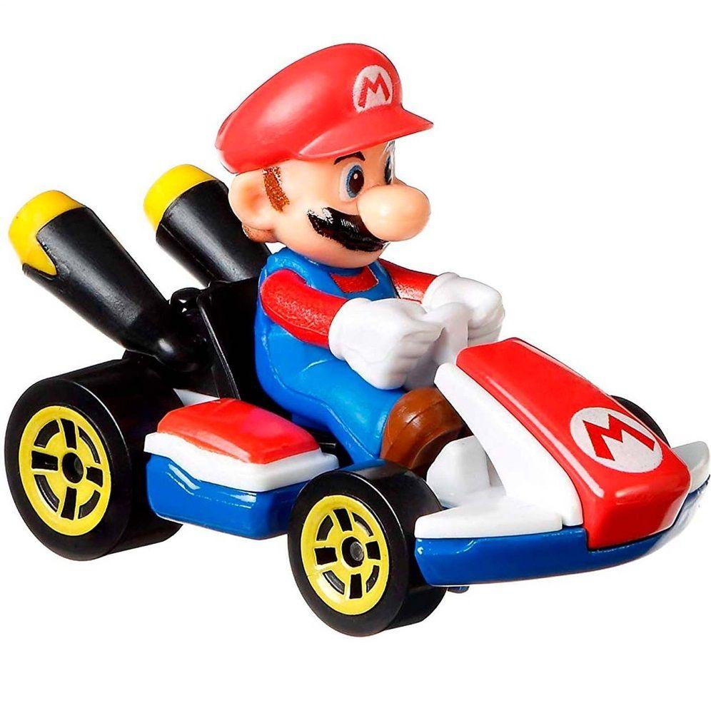 Carrinho Mario (Standard Kart): Mario Kart - Hot Wheels