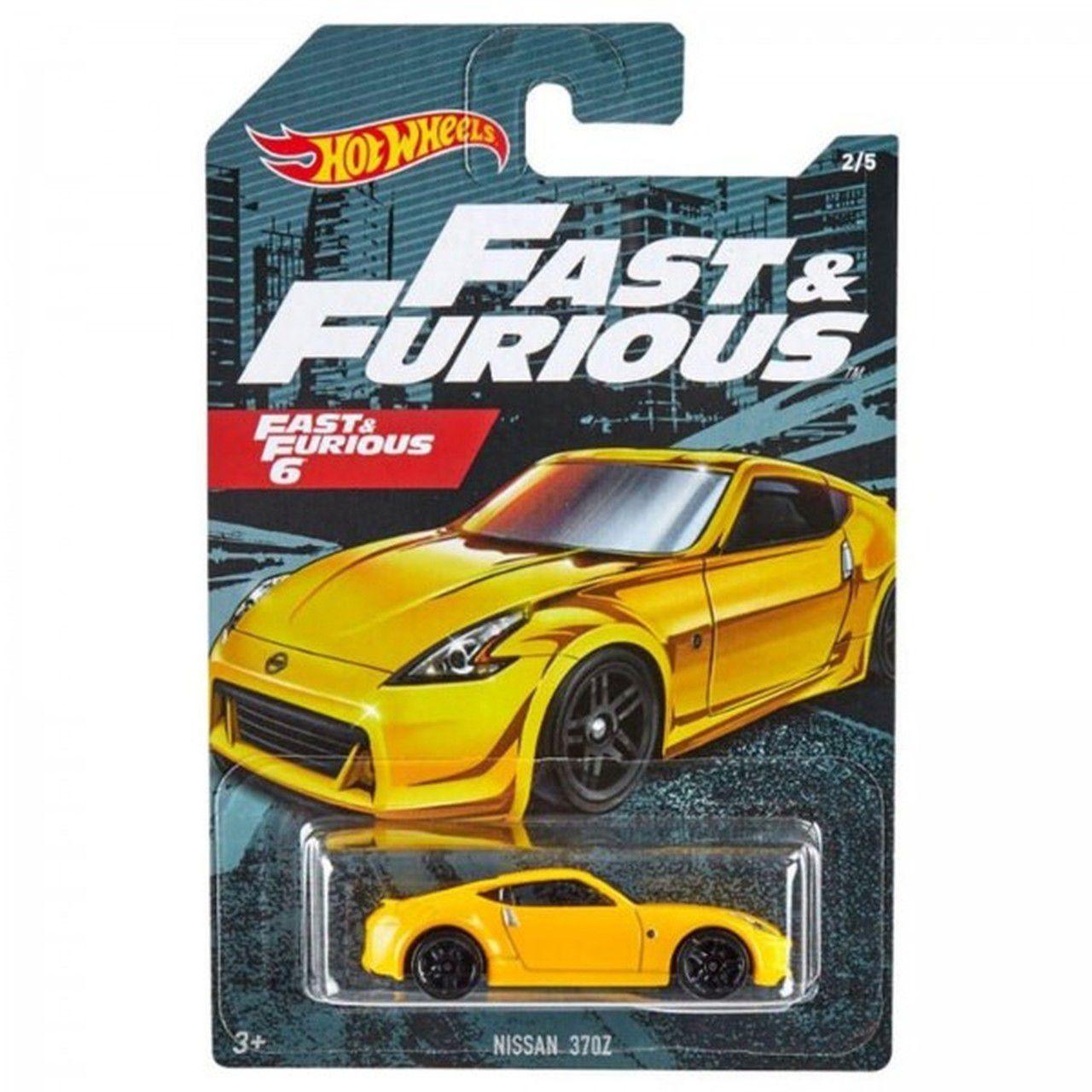 Carrinho Nissan 370Z: Velozes e Furiosos 6 (Fast & Furious) - Hot Wheels