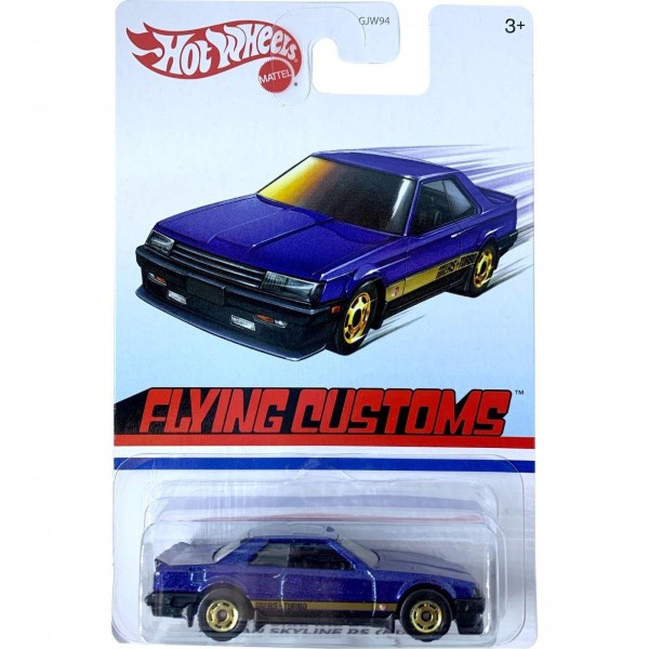 Carrinho Nissan Skyline RS (KDR30) Flying Customs (GJW94)- Hot Wheels
