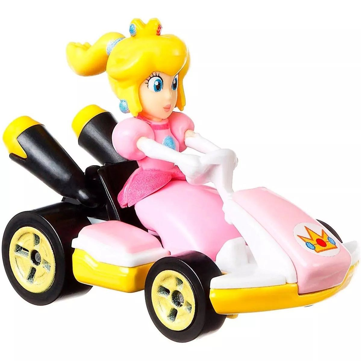 Carrinho Peach (Standart Kart): Mario Kart - Hot Wheels