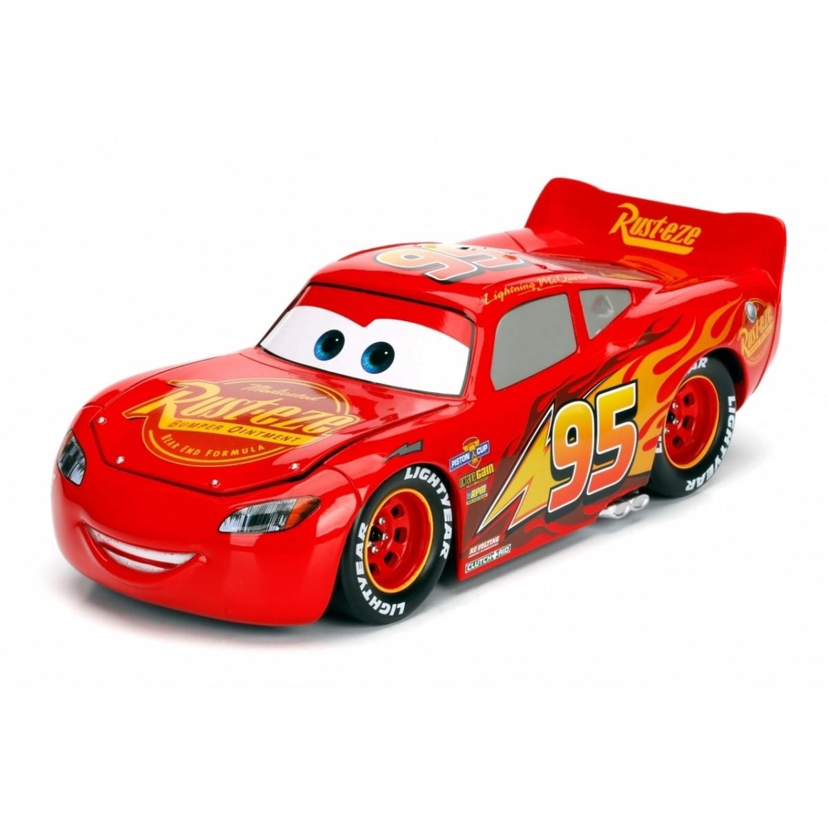 Carrinho Relâmpago McQueen: Disney Carros 3 Escala 1/24 - Jada Toys