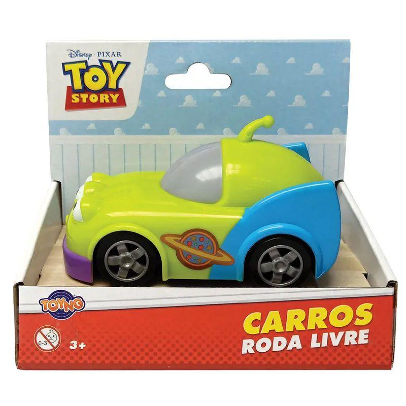 Carrinho Roda Livre Alien: Toy Story - Toyng