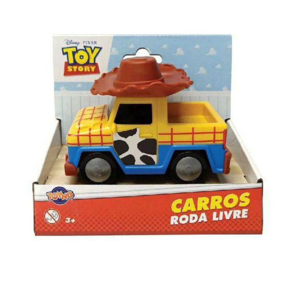 Carrinho Roda Livre Woody: Toy Story - Toyng