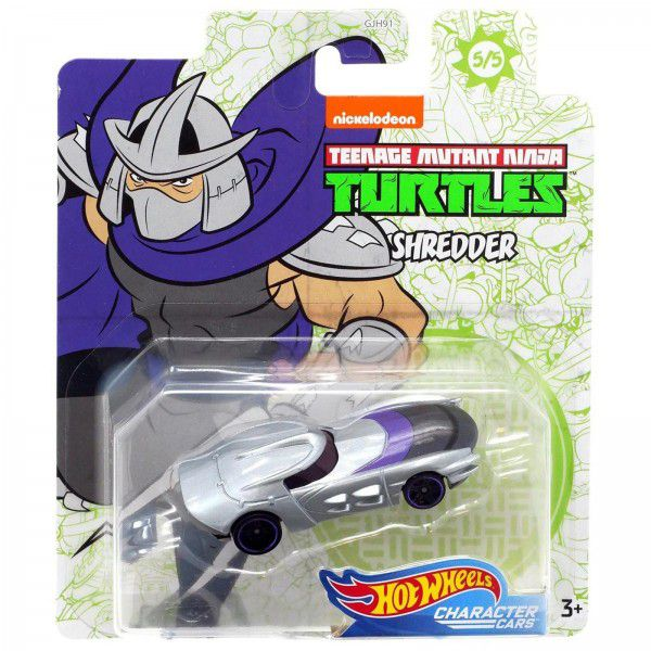 Carrinho Shredder: Tartarugas Ninja (Teenage Mutant Ninja Turtles) GJH92 - Hot Wheels