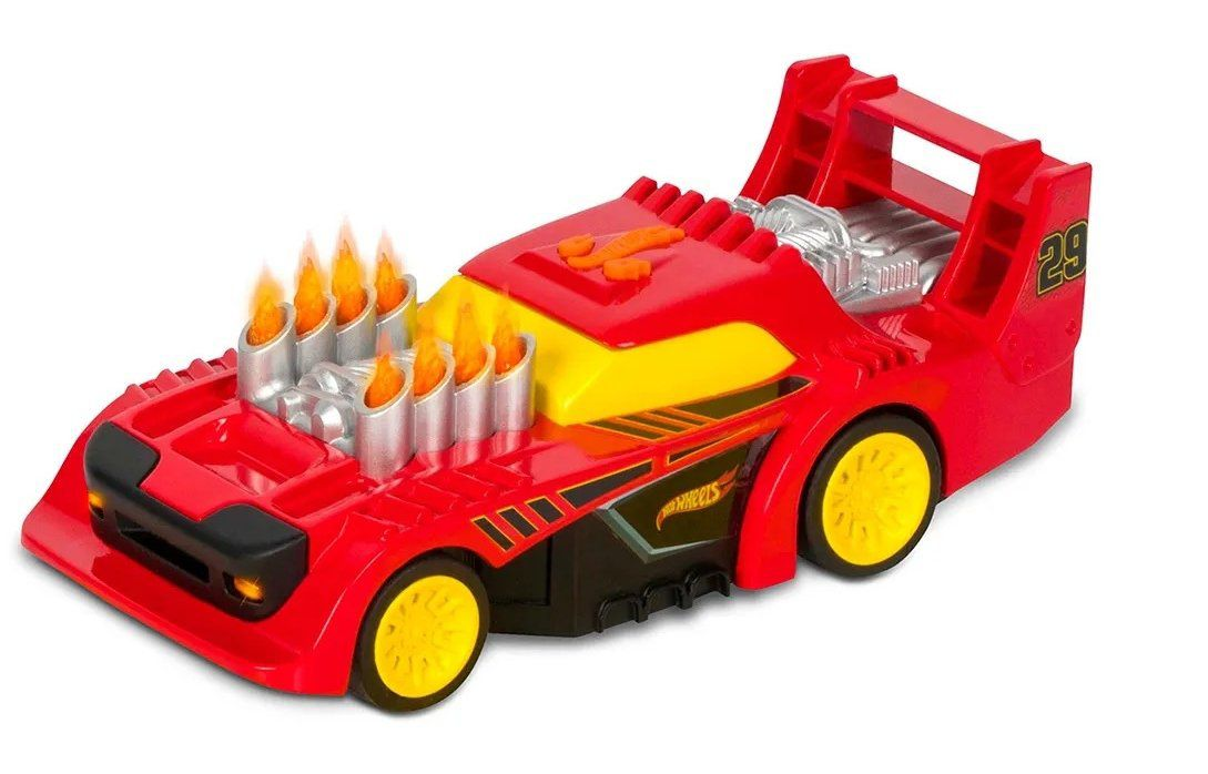 Carrinho Two Timer Flame Thrower (Bone Shaker) : Hot Wheels (Luzes E Sons) - DTC