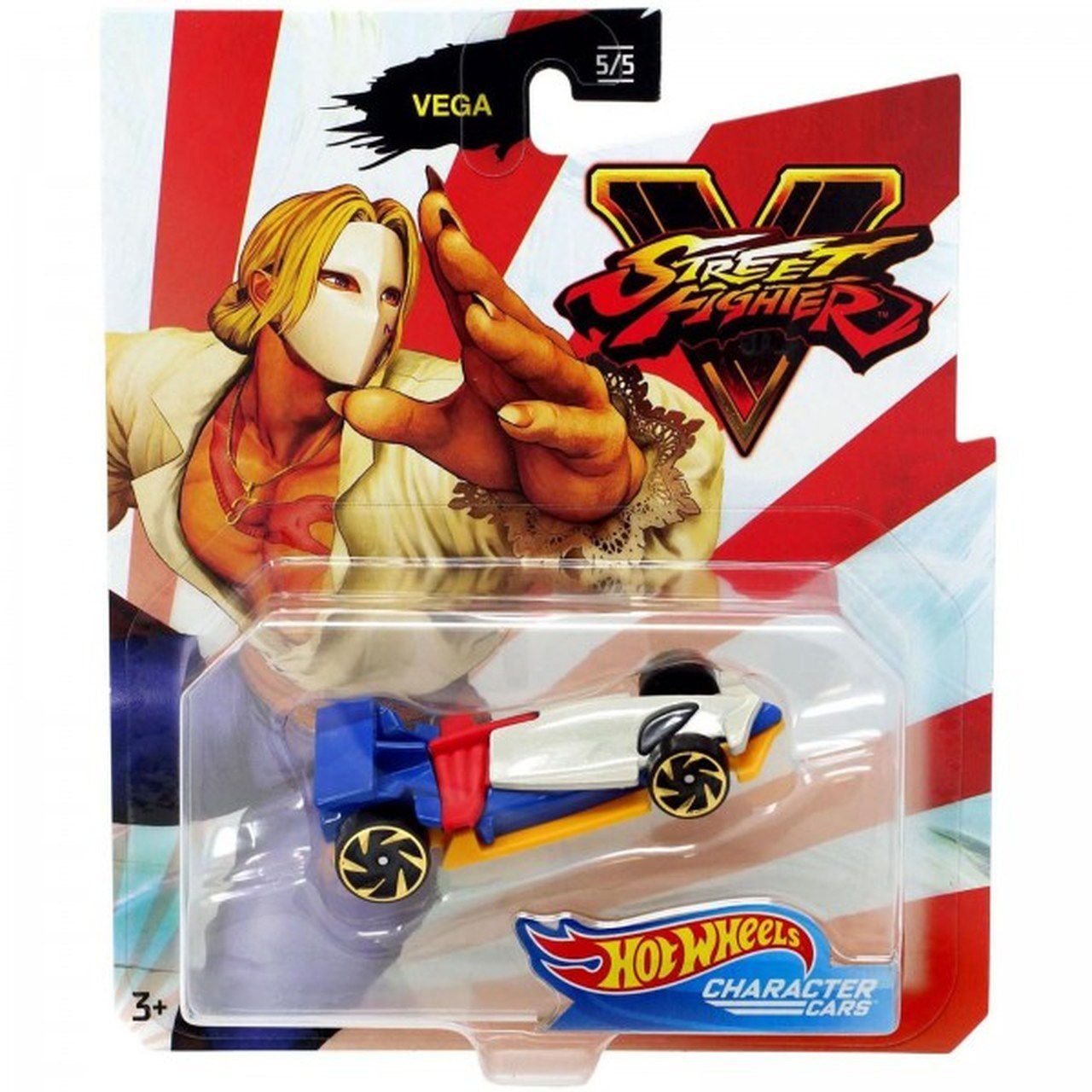 Carrinho Vega: Street Fighter V - Hot Wheels
