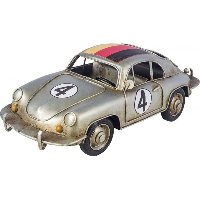Carro Alemanha Porche Mini Prata - Oldway
