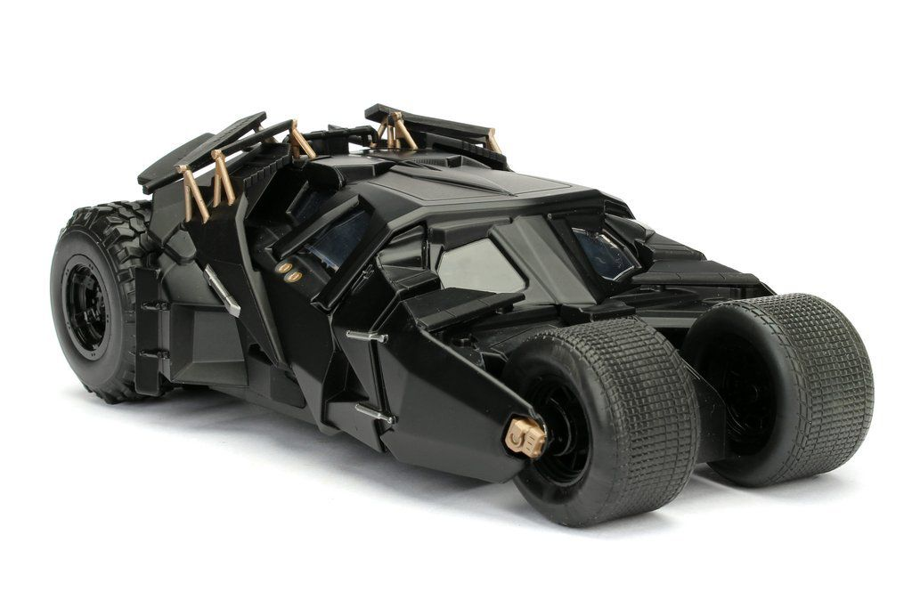 Carro Batmóvel (Batmobile) Tumbler: Batman: O Cavaleiro das Trevas (The Dark Knight)  Escala 1/24