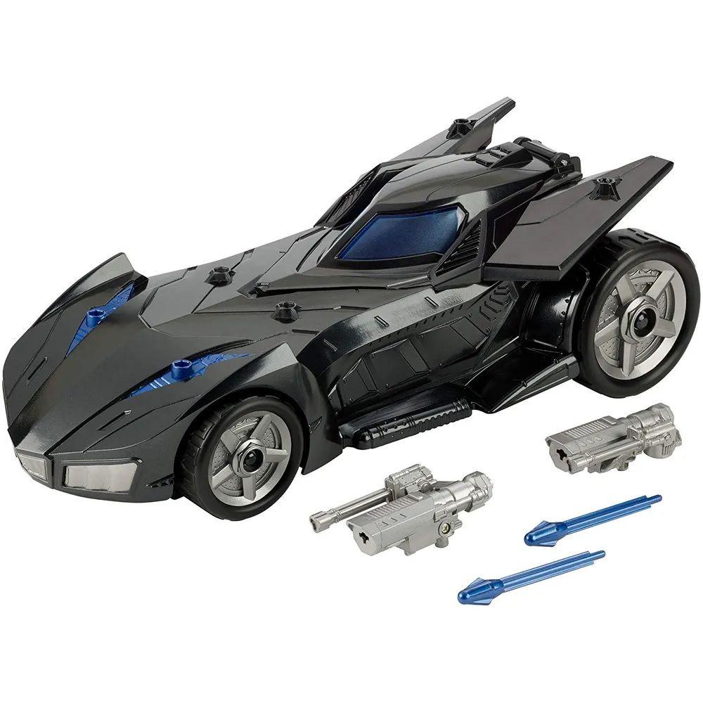 Carro Batmóvel Com Lançador: Justice League (FVM60) - Mattel