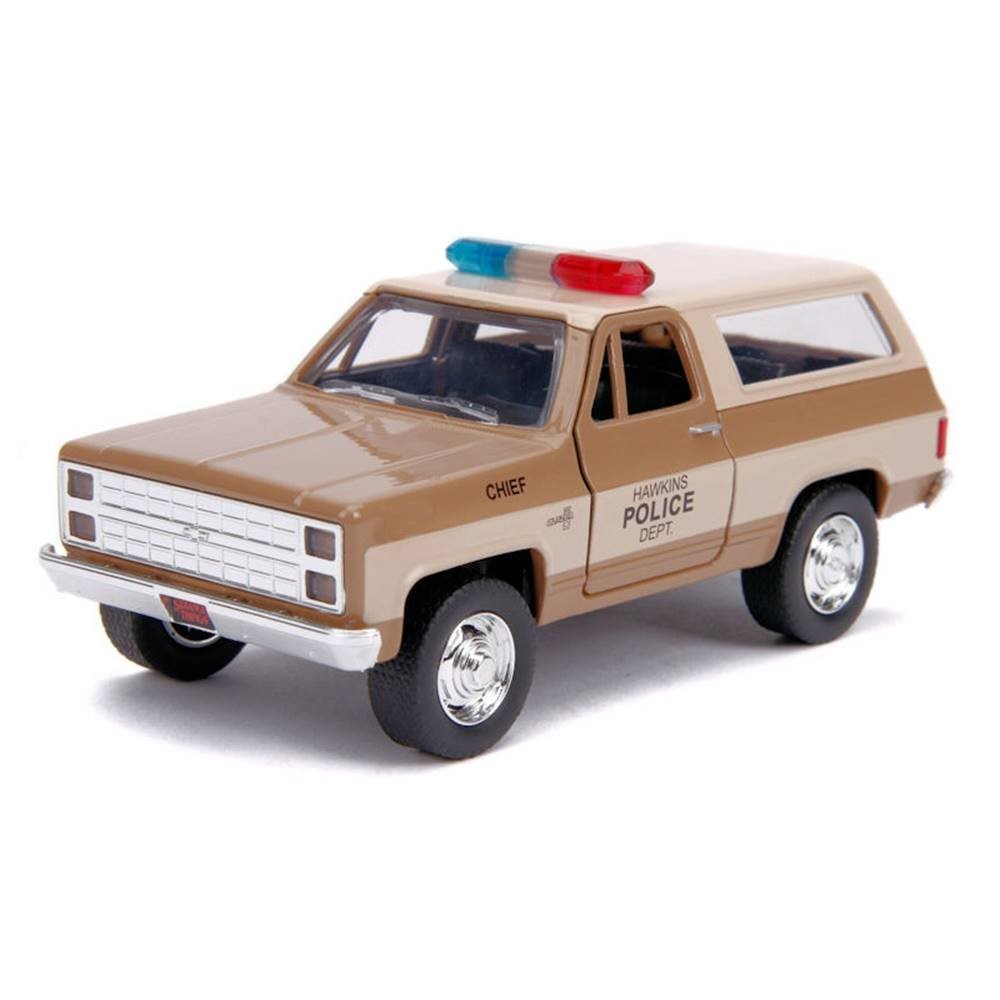 Carro Chevy Blazer ''Hopper'': Stranger Things (Die Cast Figure) Escala 1/32 - Jada Toys